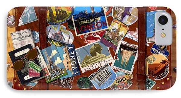 Vintage Travel Case IPhone 7 Case by Garry Walton