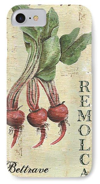 Vintage Vegetables 3 IPhone Case by Debbie DeWitt