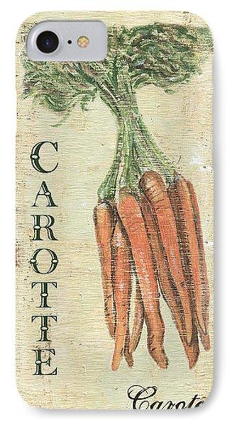 Vintage Vegetables 4 IPhone 7 Case by Debbie DeWitt
