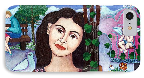 Violeta Parra Back At Seventeen   Phone Case by Madalena Lobao-Tello