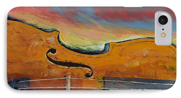 Violin IPhone Case by Michael Creese