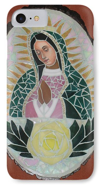 Virgen De Guadalupe Phone Case by Rosa Cardenas