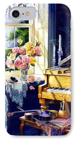 Virginia Waltz IPhone Case by Hanne Lore Koehler