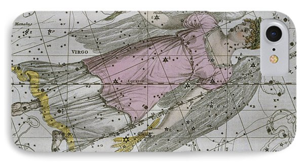 Virgo From A Celestial Atlas Phone Case by A Jamieson