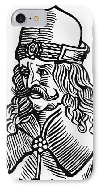 Vlad Tepes Dracula IPhone Case by French School