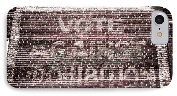 Vote Against Prohibition II IPhone Case by John Rizzuto