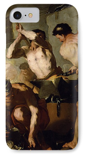 Vulcans Forge IPhone Case by Luca Giordano