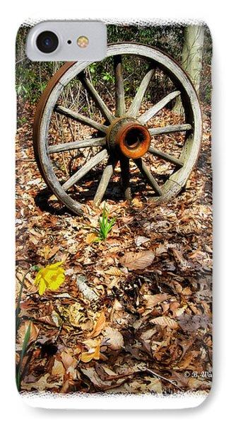Wagon Wheel Daffodil Phone Case by Brian Wallace