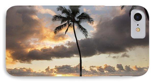 Waimea Beach Sunset - Oahu Hawaii Phone Case by Brian Harig