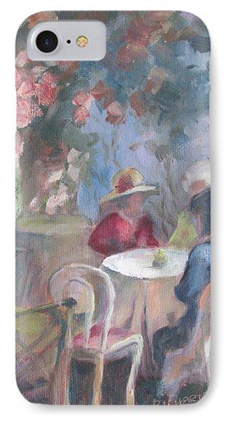 Waiting For Tea Phone Case by Susan Richardson