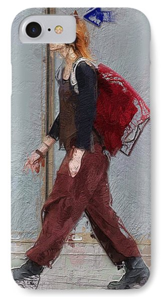 Walk This Way IPhone Case by Steve K