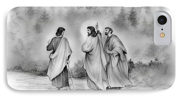 Walk To Emmaus IPhone Case by Greg Joens