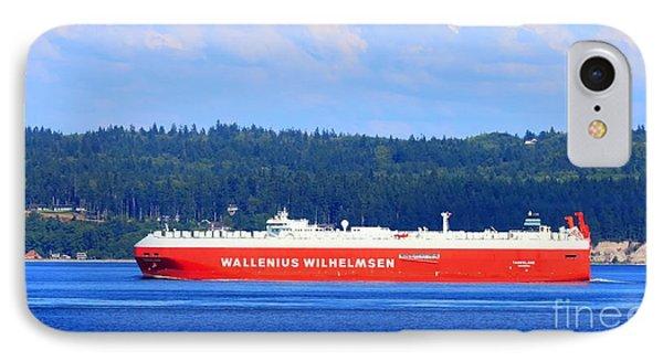 Wallenius Wilhelmsen Logistics Tamerlane Ship Phone Case by Tap On Photo