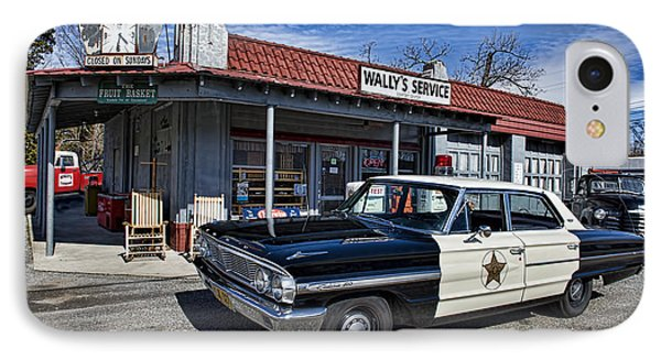 Wallys Service Station IPhone Case by David Arment