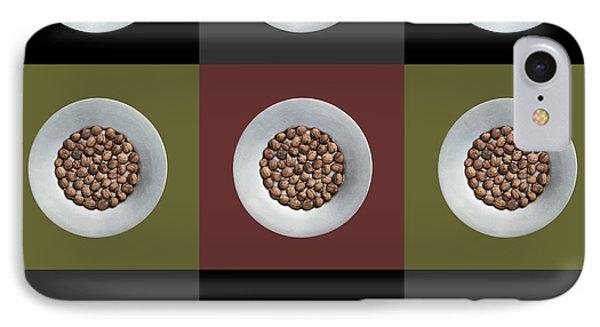 Walnut 3x3 Collage 2 IPhone Case by Maria Bobrova