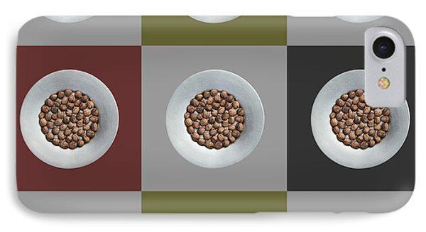 Walnut 3x3 Collage 5 IPhone Case by Maria Bobrova