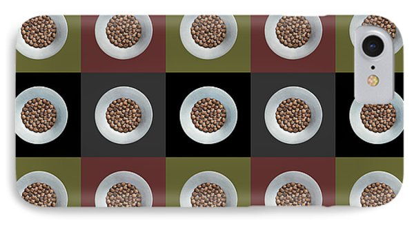 Walnut 5x5 Collage 2 IPhone Case by Maria Bobrova