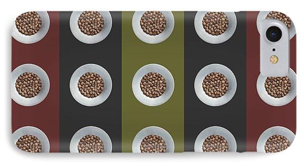 Walnut 5x5 Collage 4 IPhone Case by Maria Bobrova