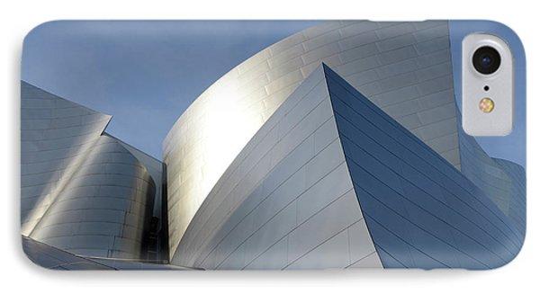 Walt Disney Concert Hall 14 Phone Case by Bob Christopher