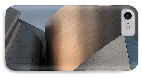 Walt Disney Concert Hall 15 Phone Case by Bob Christopher