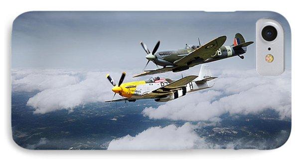 Warbird Wonders  IPhone Case by J Biggadike