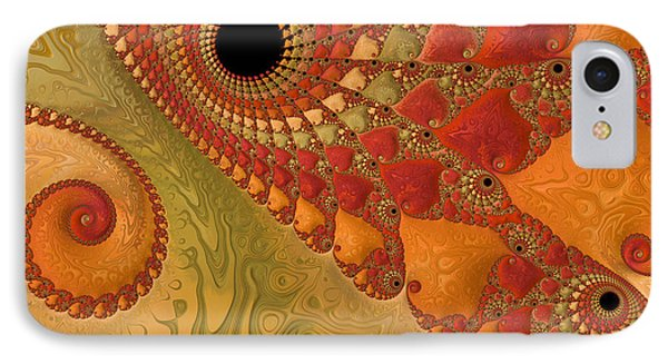 Warm And Earthy IPhone Case by Heidi Smith