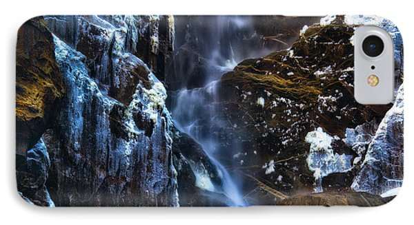Warm Cold Water And Ice IPhone Case by Anthony Bonafede