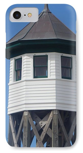 Wash Woods Coast Guard Tower Phone Case by Cathy Lindsey