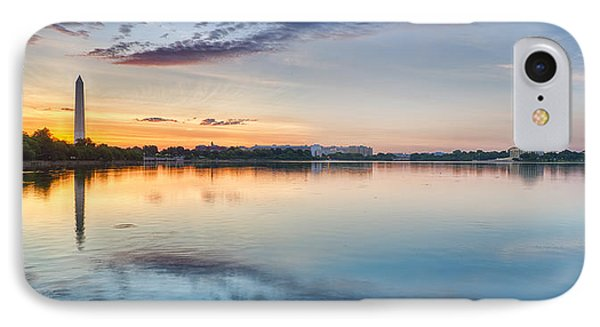 Washington Dc Panorama IPhone Case by Sebastian Musial