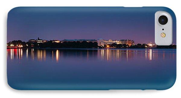 Washington Skyline IPhone Case by Sebastian Musial