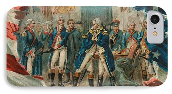 Washington Taking Leave Of His Officers Phone Case by Anonymous