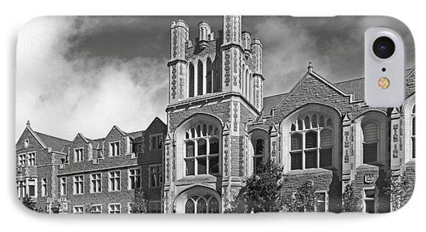 Washington University Anheuser- Busch Hall Phone Case by University Icons