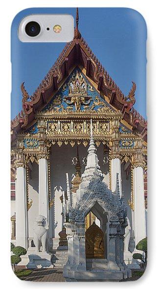 Wat Amarintaram Ubosot Dthb1507 Phone Case by Gerry Gantt