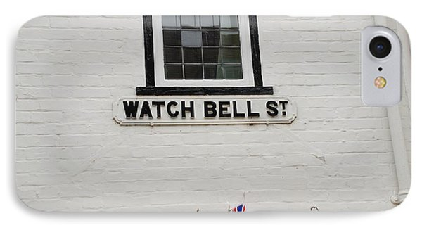 Watch Bell Street Rye Phone Case by David Fowler