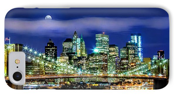 Watching Over New York IPhone Case by Az Jackson