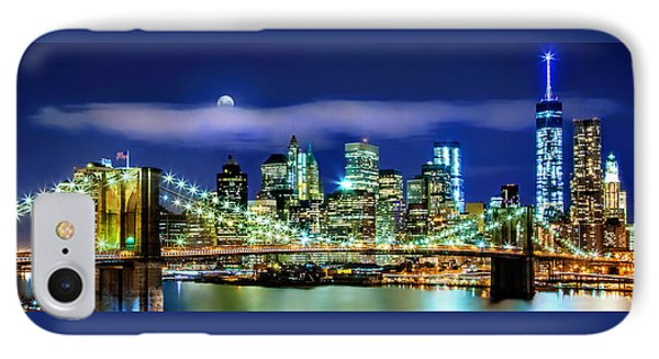 Watching Over New York IPhone 7 Case by Az Jackson