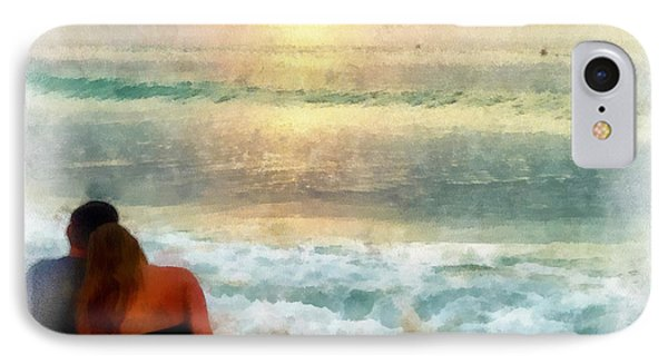 Watching The Sunset IPhone Case by Anthony Caruso