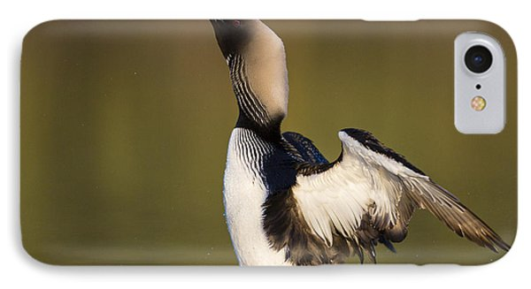 Water Droplets And A Head Shake IPhone 7 Case by Tim Grams