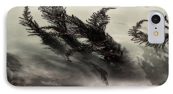 Water Fronds Phone Case by Dave Bowman