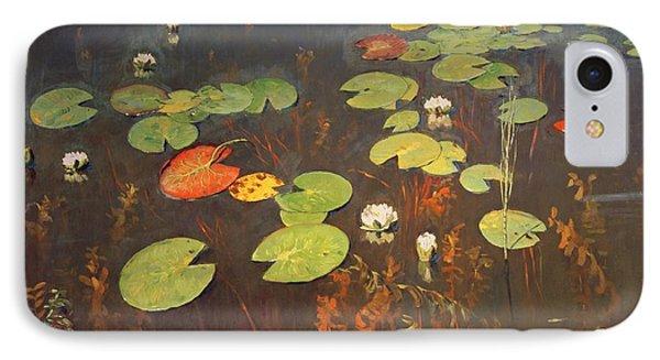 Water Lilies Phone Case by Isaak Ilyich Levitan