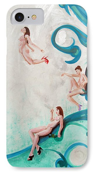 Water Nymphs Phone Case by Lorinda Fore and Tony Lima