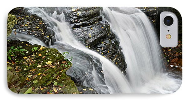 Water Rushes Forth Phone Case by Frozen in Time Fine Art Photography