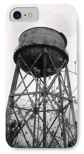 Water Tower IPhone Case by Michael Grubb