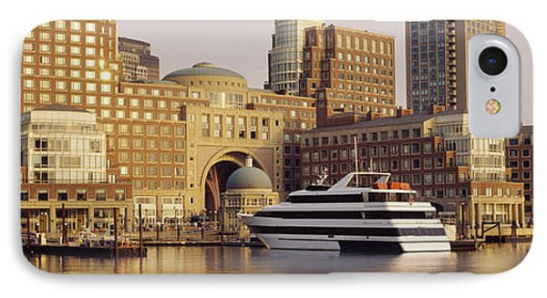 Waterfront, Boston, Massachusetts, Usa IPhone Case by Panoramic Images
