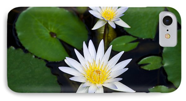 Waterlily Two IPhone Case by Christi Kraft