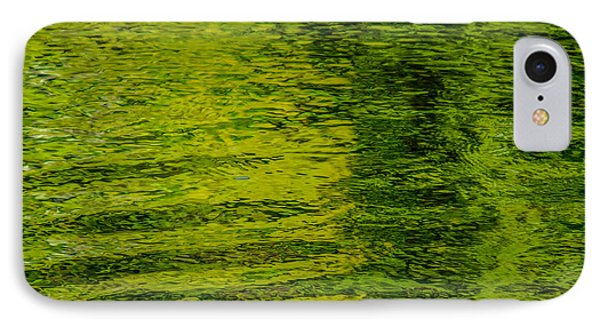Water's Green Phone Case by Roxy Hurtubise