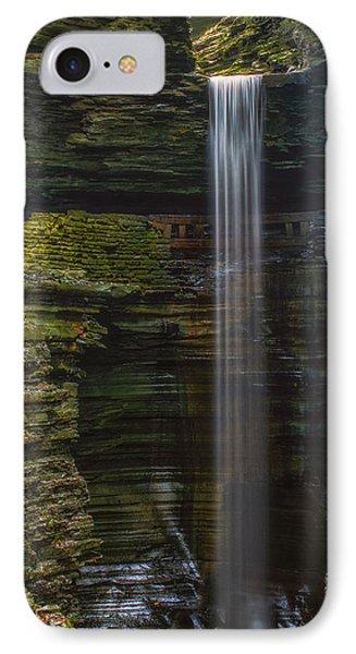 Watkins Glen Central Cascade Phone Case by Mark Papke