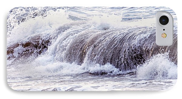 Wave In Stormy Ocean IPhone Case by Elena Elisseeva