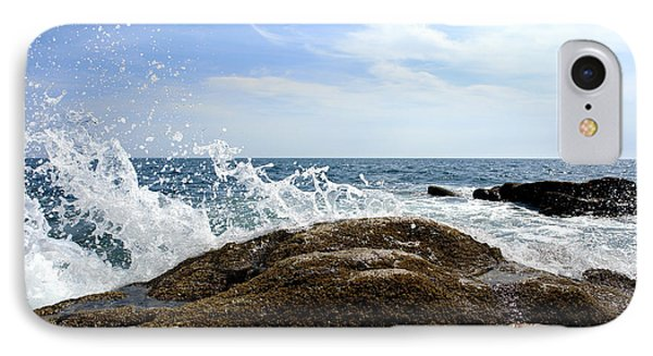 Waves Crashing IPhone Case by Olivier Le Queinec
