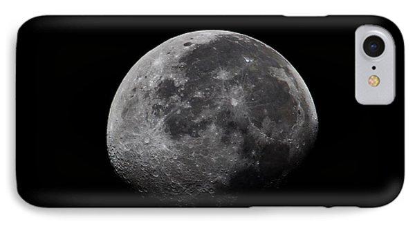 Waxing Moon Phone Case by Nila Newsom